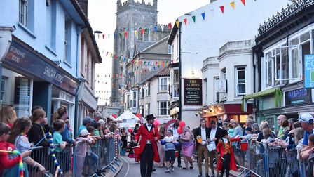 A scene of a bustling Cromer street during the 2019 carnival. Picture: Sonya Duncan