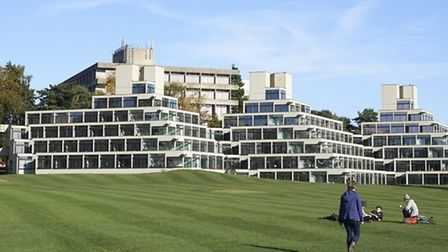 University of East Anglia. Picture: EDP Library