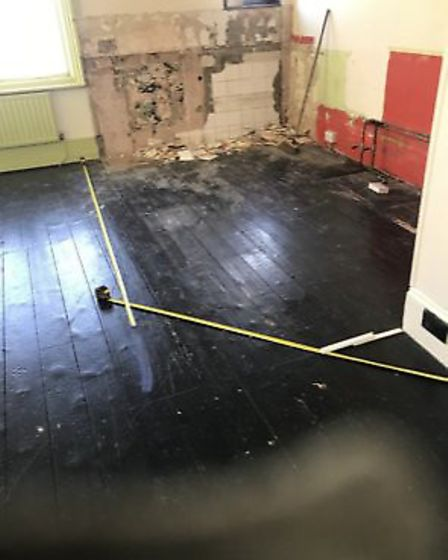 Work was carried out at the former pub and cafe to transform it into the new Residence salon. Pictur