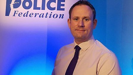 Andy Symonds, chair of the Norfolk Police Federation. Picture: Andy Symonds