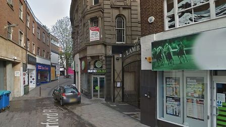 A man's body was found in Orford Place, Norwich Photo by Google Street View