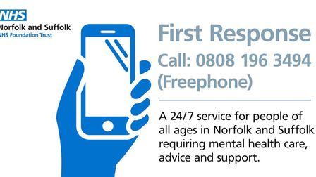 A new mental health helpline is being launched to help people during the Covid-19 pandemic. Picture:
