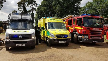 Police, ambulance and fire services in Norfolk have pledged to work together during the Coronavirus