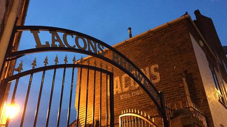 Lacons Falcon Brewery in Great Yarmouth. Picture: Lacons