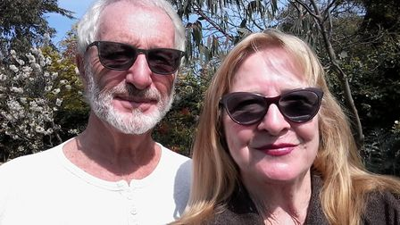 Former Norwich councillor Michael Ashley and his wife Pauline are safe at home after their ordeal in