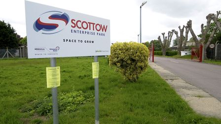 Scottow Enterprise Park at the former RAF Coltishall air base. Picture: MARK BULLIMORE