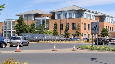 The Norfolk and Norwich University Hospital is set to be removed from special measures. Picture: Ni