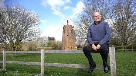 Alan Ferguson is the chair of Dereham Windmill Trustees. Picture: DONNA-LOUISE BISHOP