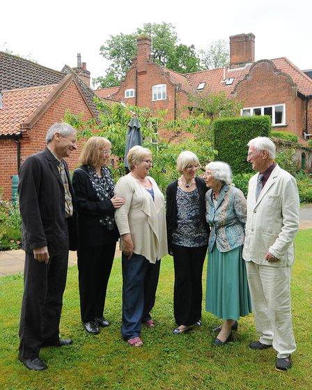Aylsham Manor Care Home celebrating its 30th anniversary back in 2012 with the current proprietor Ca