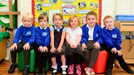 New pupils at St Andrew's Primary School, North Lopham, in 2017. Parents have questioned how such yo