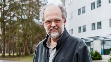 Prof Paul Hunter of the UEA Norwich medical school. Picture: Bill Smith