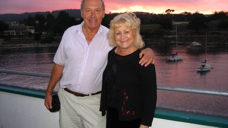 Derek and Brenda Moncur, from Norwich, have been married for 41 years. Picture: Derek Moncur