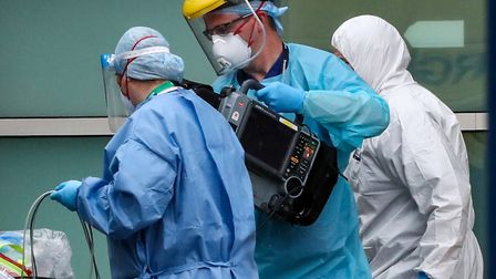NHS staff are in the front line of the fight against coronavirus. Photo: Peter Byrne/PA Wire