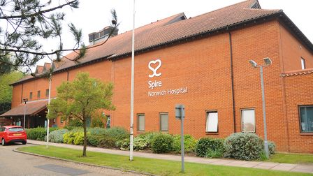 The Spire Hospital Norwich at Colney. Picture: Denise Bradley