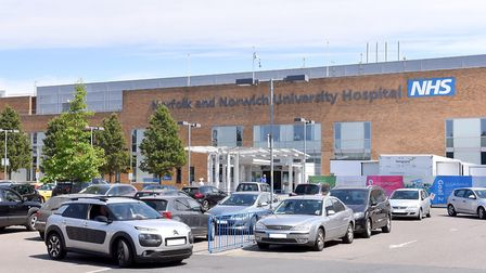Norfolk and Norwich University Hospital. NNUH