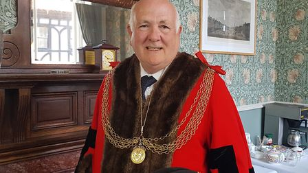 Michael Jeal - the Mayor of Great Yarmouth. Picture: Liz Coates