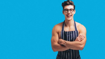 Matt Adlard first found fame as the Topless Baker on his YouTube channel Picture: Ira Giorgetti