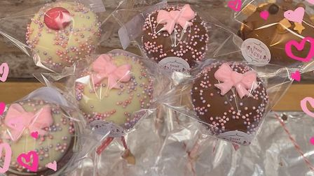 Vanessa Beales-Howes, who runs Attleborough business Sweet-Ness, has been delivering sugary treats d
