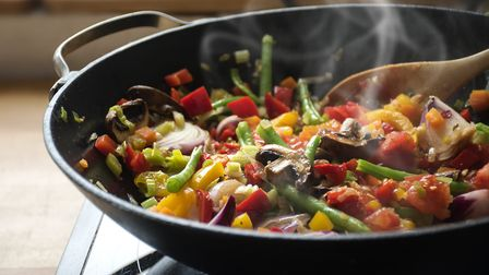Experiment with plant-based recipes, which have lower greenhouse gas emissions than those containing