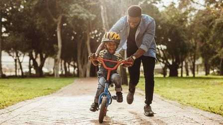 Use this time to teach children the lifelong skill of cycling Picture: Getty Images/iStockphoto