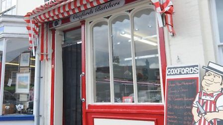 Coxford's butchers in Aylsham. Pic: Archant