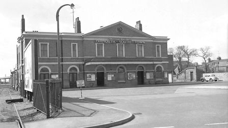 Great Yarmouth Southtown Station in the 1950s. Photo: Archant Library