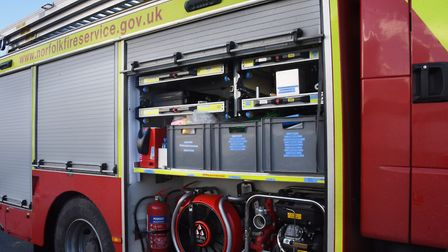 Firefighters have been called to a collision in Gorleston. Picture: DENISE BRADLEY