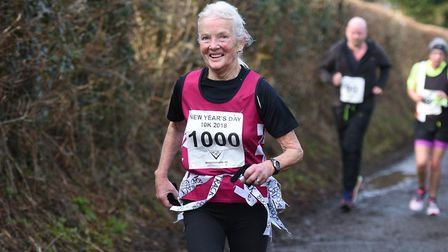 Eva Osborne, from Wymondham, has shared her experience of being one of only 203 women to run in the