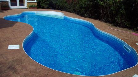 An outdoor swimming pool is also another on the wishlist for dream home renovations. Picture: Newson