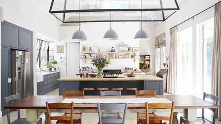 Open-plan living is a dream for many people wanting to renovate their homes. Picture: Getty Images