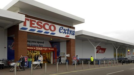 Tesco store at SprowstonPhoto: Bill SmithCopy: For: ENArchant © 2007(01603) 772434