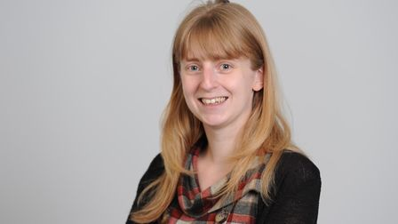 Claire Tebbutt, research scientist at IONTAS. Picture: IONTAS