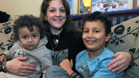 Cate Oliver, who is also a Norwich councillor, is homeschooling her four children. Photo: Archant