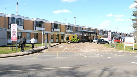 A patient was arrested at the Queen Elizabeth Hospital in King's Lynn Picture: Ian Burt