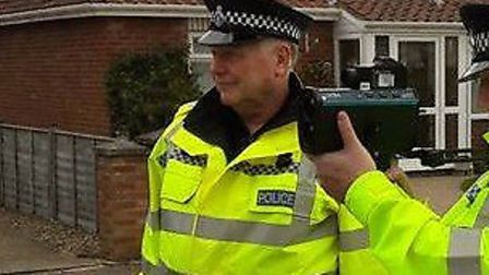 Special Constable Graham Eaves who served with Norfolk police for almost 30 years. Picture: Norfolk