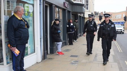 Norfolk Police have issued 243 fixed penalty notices so far to those flouting lockdown rules. Pictur