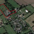 The site where nine new homes could be built on a former meat processing plant. Picture: Google