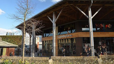 The Superdry store in Norwich. Pic: Superdry/Joshua Dyball