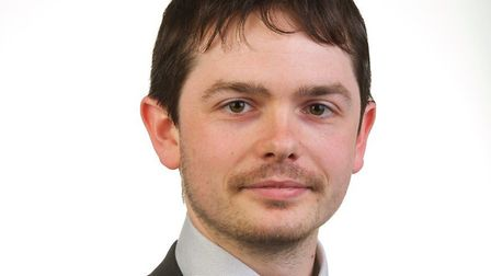 Rhodri Oliver, chairman of Breckland Council's scrutiny committee. Picture: Breckland Council