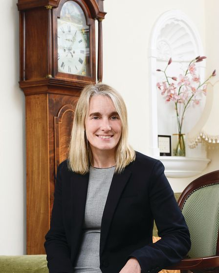Anne Beckett-Allen, co-founder and director of Rosedale Funeral Homes. Picture: Sylvaine Poitau
