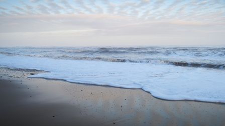 Covehithe beach. Picture: Sarah Lucy Brown