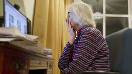 Many older people have been particularly lonely during the lockdown. Picture: Getty Images/iStockpho