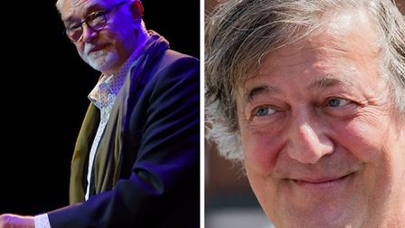 Norfolk stars Martin Shaw and Stephen Fry will voice new adverts for Big C. Picture: Denise Bradley/