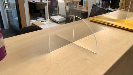 CIM is now making perspex safety screens. Pic: submitted