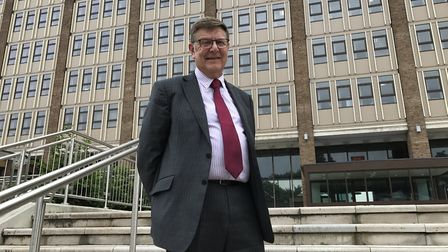 A con artist posed as Norfolk County Council leader Andrew Proctor in an email scam designed to con