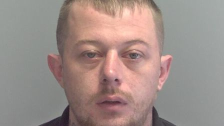 Wanted man 27-year-old Kenin Fox, from Lowestoft, has been located by police. Photo: Suffolk Constab