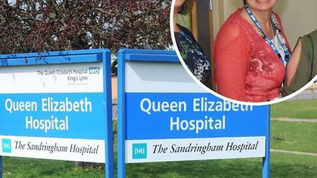 Dr Frankie Swords, medical director at the Queen Elizabeth Hospital. Picture: Archant/Joshua Yates