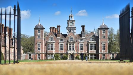 The National Trust's Blickling Hall remains closed, but the car park has reopened. Picture: Archant
