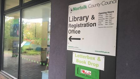 A call for some of Norfolk's libraries, including this one in Great Yarmouth, has been rejected. Pic