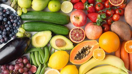 A rainbow diet will give your body plenty of nutrients Picture: Getty Images